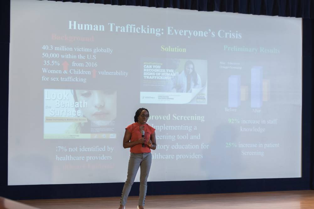 3MT Presenter #2 Human Trafficking: Everyone's Crisis